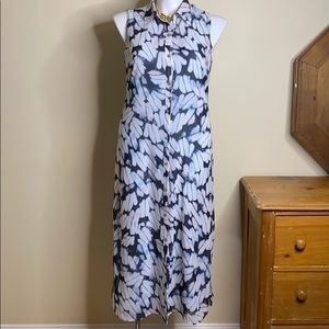 CAbi Batik Pattern Maxi Dress